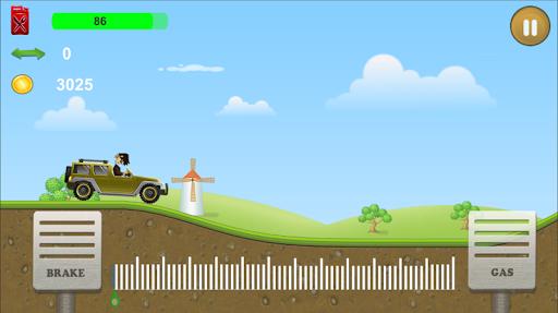 Télécharger Mad Truck Hill Racing APK MOD 1