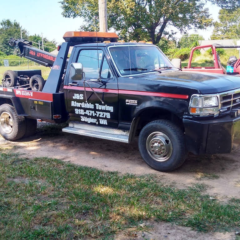 J & S Towing >> J S Affordable Towing Towing And Wrecker Service Stigler