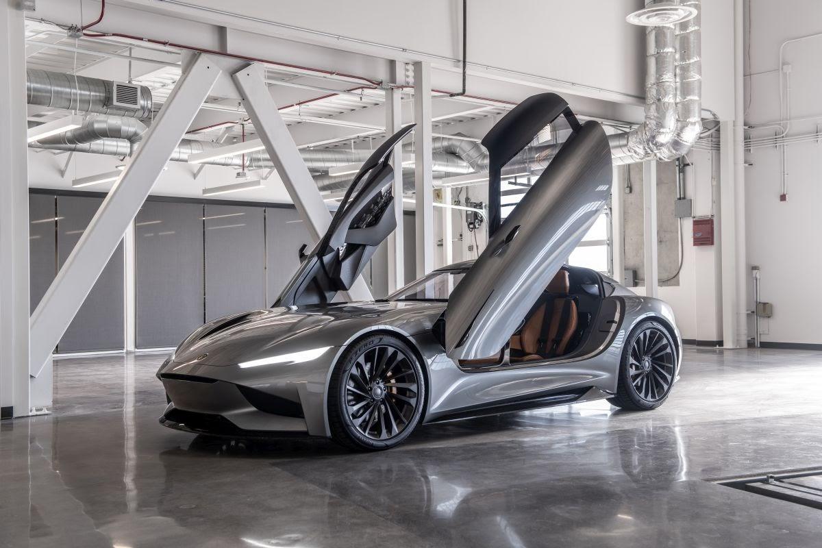 Karma SC2 Concept debuts at LA Auto Show