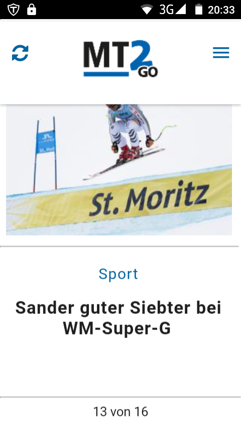 Mindener Tageblatt - MT2GO – Screenshot