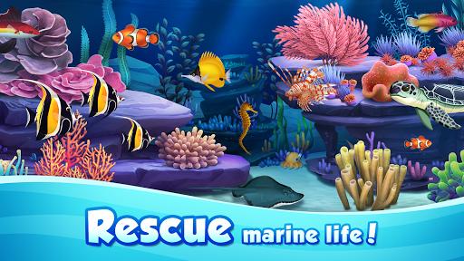 Aqua Blast: Fish Matching 3 Puzzle & Ball Blast 1.1.6 screenshots 1