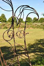 Photo: Le banc des amoureux (détail)