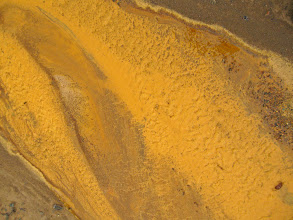 Photo: Mineral sediment: Sheep Mountain, Glenn Highway