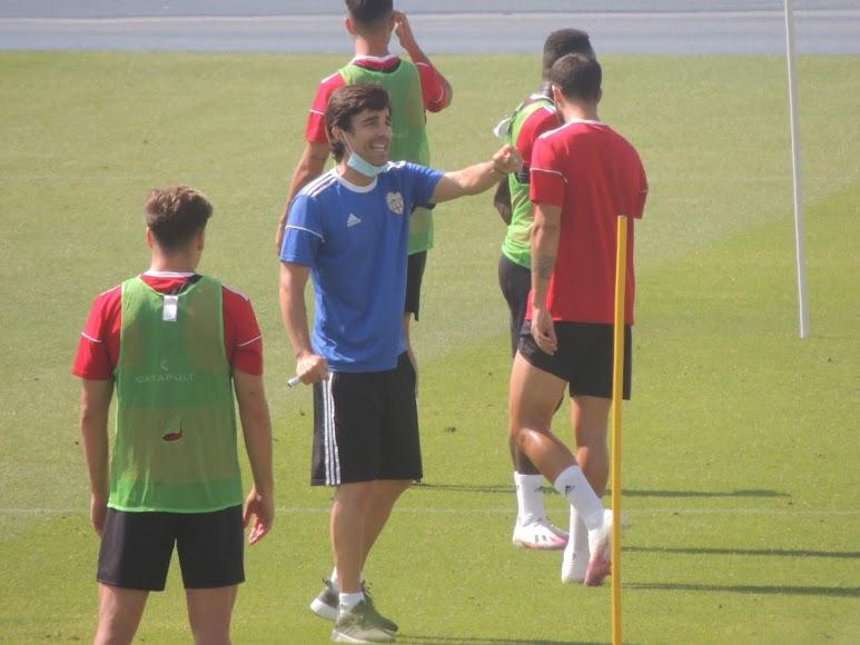 Mario Silva en acción.