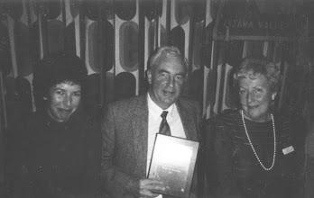 Photo: Carol Carscallen, George Carscallen (1st Al Oakes Award winner!), Pat Oakes