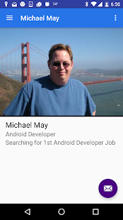 Michael May's Resume- screenshot thumbnail