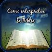 Como interpretar la Biblia game APK