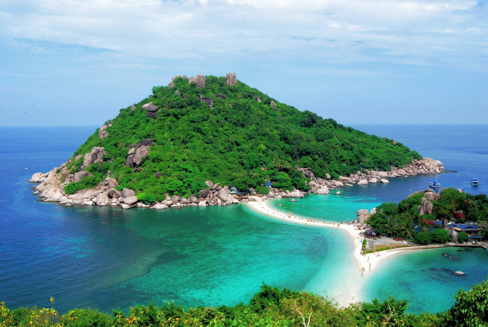 Snorkel Tour to Koh Nangyuan & Koh Tao by Speed Boat from Koh Samui