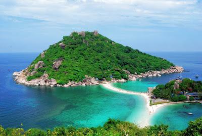 Snorkel Tour to Koh Nangyuan & Koh Tao by Speed Boat from Koh Samui