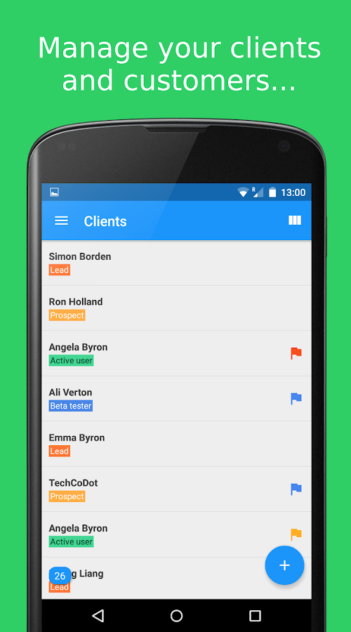 NetHunt CRM for Gmail- screenshot