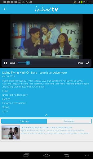iWant TV 3.9 screenshots 7