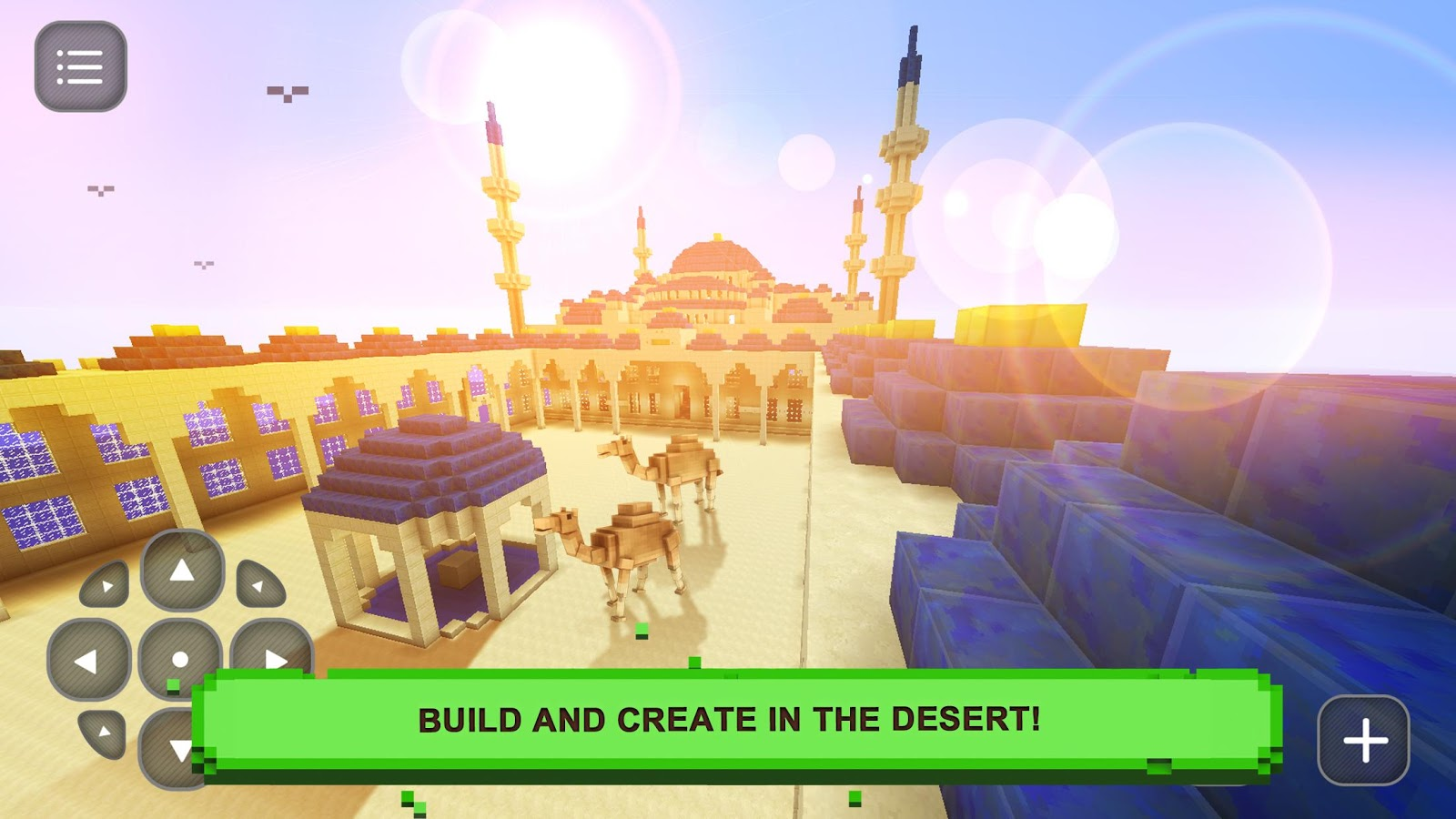 Desert block craft exploration android apps on google play for Crafting and building 2