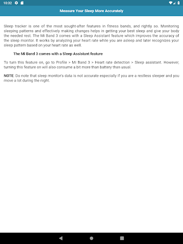 User Guide for Mi Band 3 APK | APKPure ai