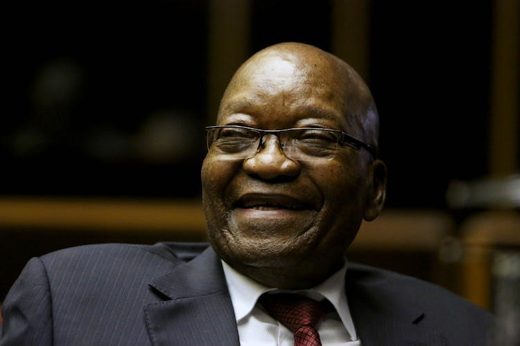 Supporters of Jacob Zuma said 'the prime target the state capture inquiry and its chairperson have in their crosshairs, and are literally hunting down, is Zuma'. File photo.