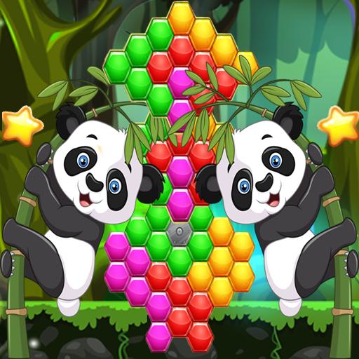 Panda Hexagon (game)