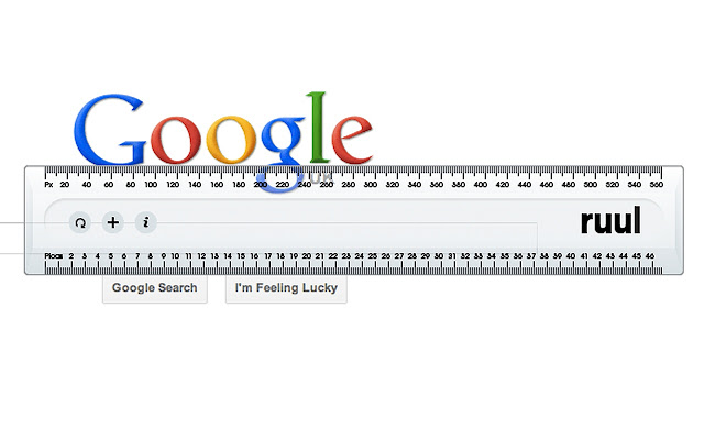 ePlusGo - ekstensi ruul Screen ruler untuk mengetahui ukuran pixel halaman web