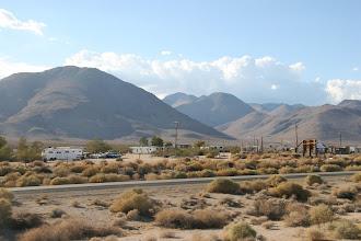Photo: Siedlung in der Wüste