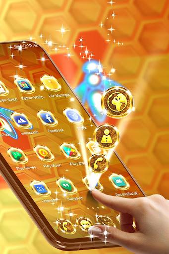gold theme for whatsapp screenshot 3