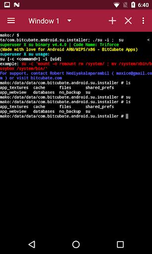 Superuser X Free [Root] L screenshots 6