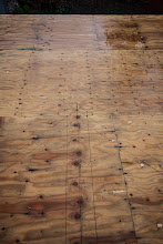 """Photo: Top angled lines are the top plates, center lines represents the 6 3/4"""" wide post for the 6 3/4""""x24"""" GLB"""