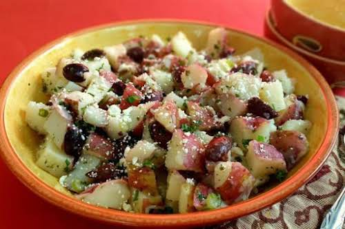 "Middle Eastern Style Potato Salad ""A twist on an old favorite."" -..."