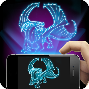 Hologram Dragon 3D Joke for PC and MAC