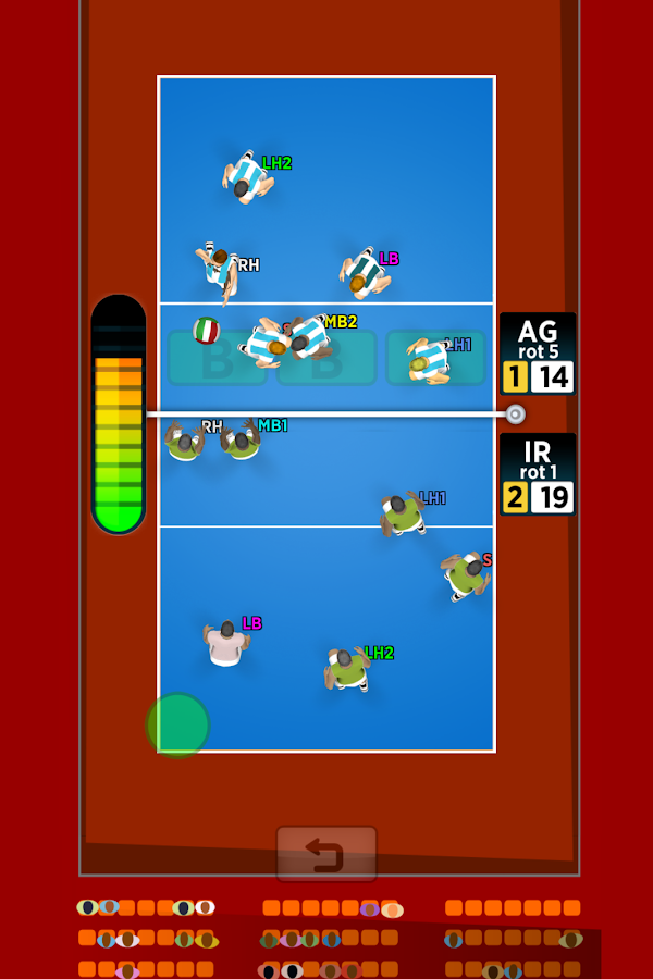 Spike Masters Volleyball- screenshot