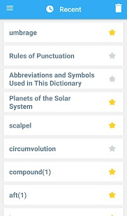 Webster's College Dictionary- screenshot thumbnail