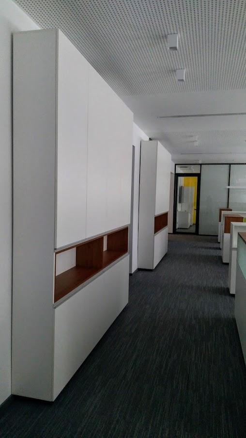 Высокий модульный шкаф - Модульная офисная мебель, Металлические каркасы столов, Мебельные опоры ✆ 0679245444