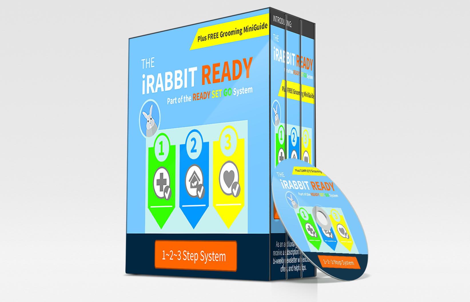 iRabbit READY 3 Step Learning System