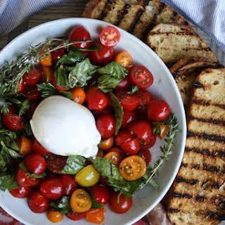 Marinated Tomatoes & Burrata.