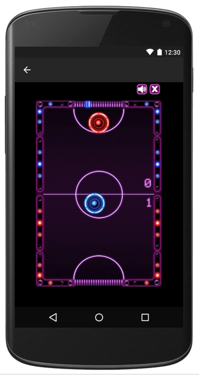 Air Hockey -Fast Paced Table-Sport Simulation Game Android 6