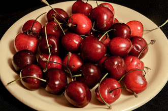 Photo: cherries  I moved so I pay ... +Daniela Münch :D  shot a couple of minutes before ... ;) These won't survive this night.