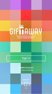 GiftAway- screenshot thumbnail
