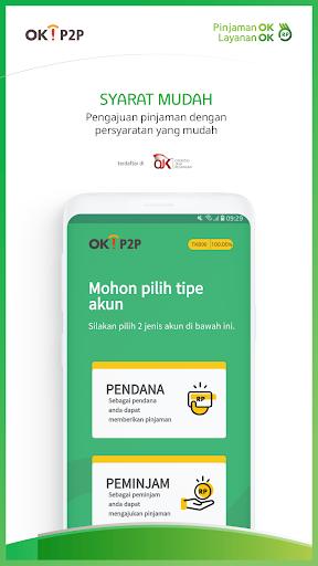OK!P2P - Pinjaman Ok Layanan Ok 1.0.0 Apk Download - com.okp2p APK free
