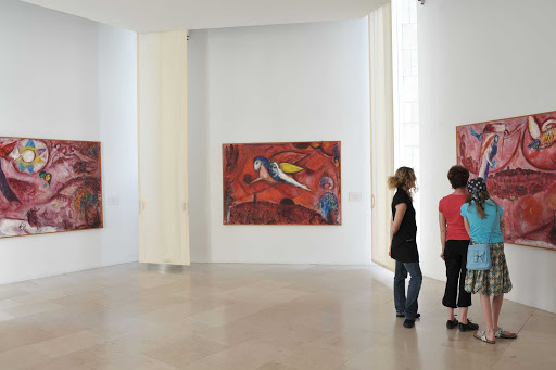 France-Nice-Musee-Chagall.jpg - Stroll through the Musee Chagall in Nice, France.