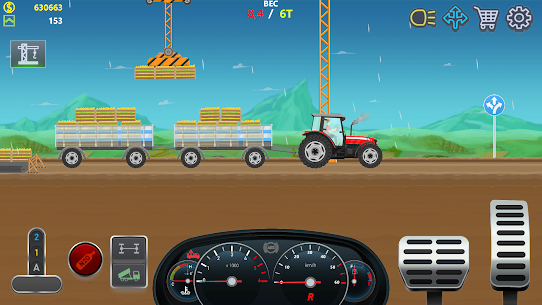 Trucker Real Wheels – Simulator MOD APK [Unlimited Money] 6