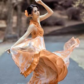 Swing by Chandra Sugiharto - People Fashion ( model,  false color,  women )