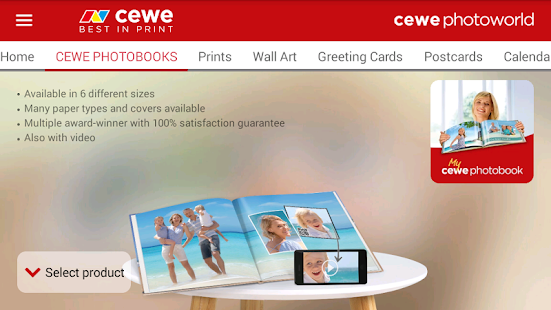 cewe photoworld- screenshot thumbnail