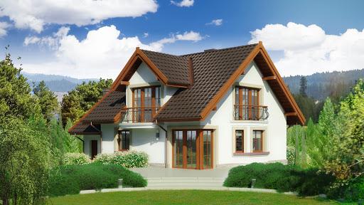 projekt Dom przy Cyprysowej 14 D