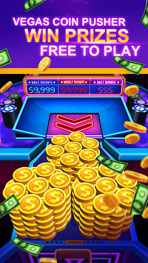 Cash Dozer - Vegas Coin Pusher Arcade Dozer  screenshots 1