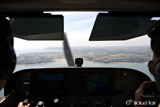 Photo: Approaching Isle of Wight