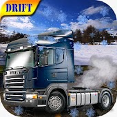 Snow Euro Truck Drift Racing icon
