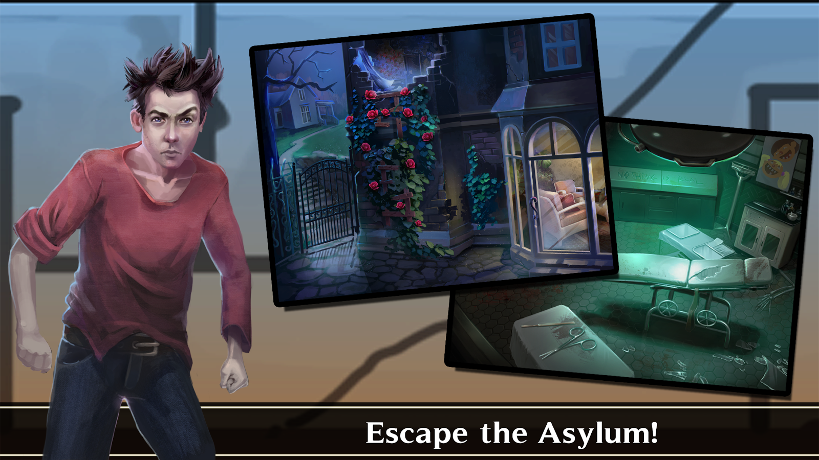 Adventure Escape: Asylum- screenshot