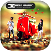 Micro Graphic : Miniature Effect Photography icon