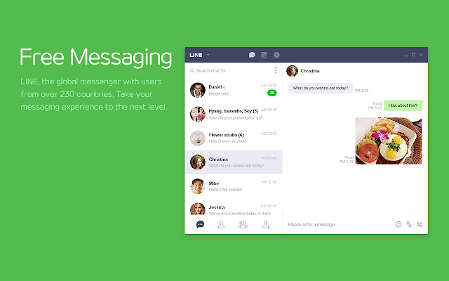 Ad Added Free messaging and smart memos LINE 5995