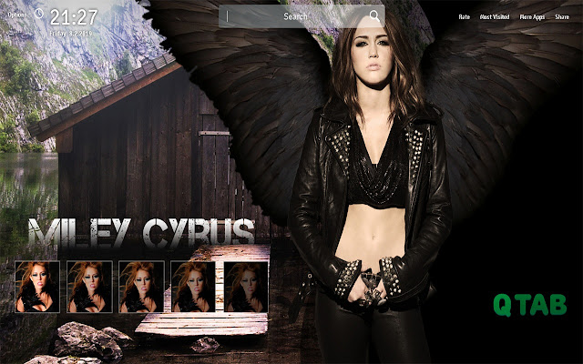 Miley Cyrus Wallpapers New Tab