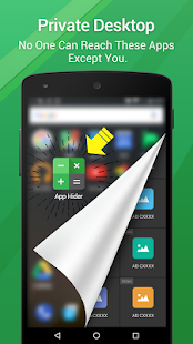 App Hider - náhled