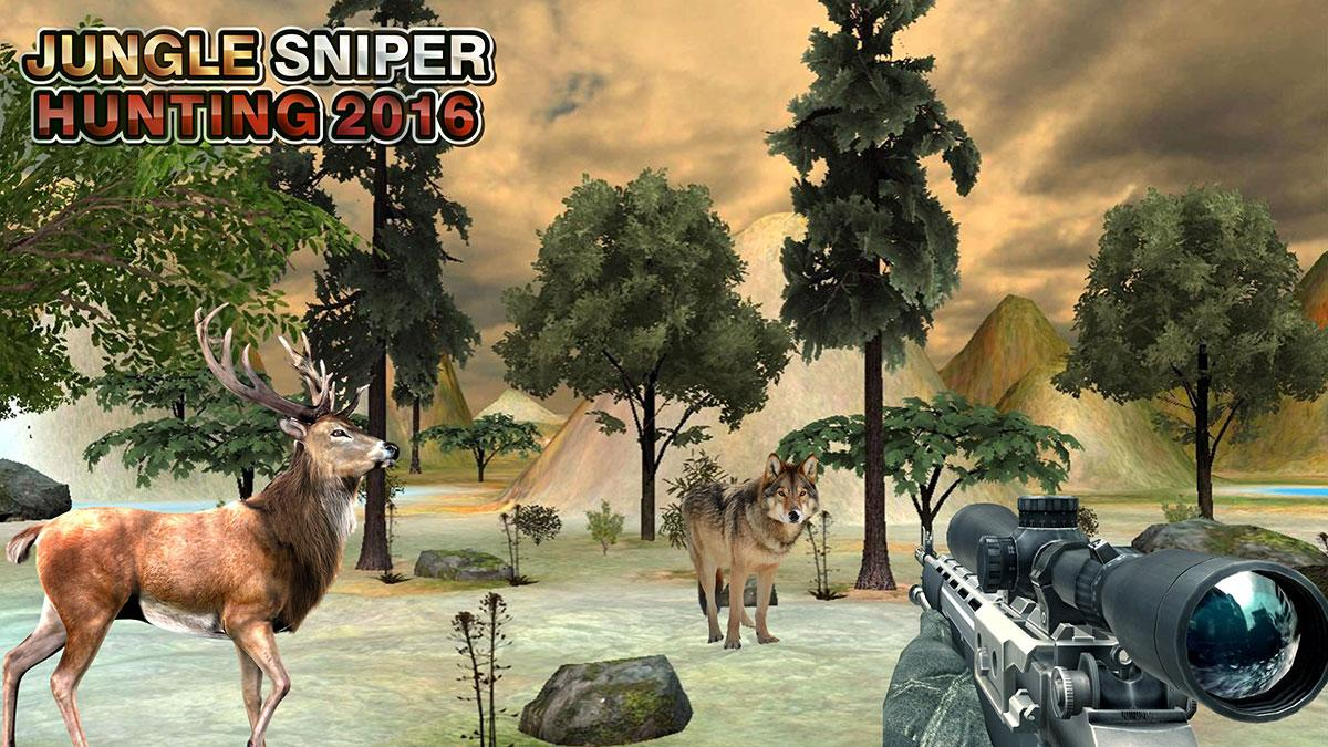 Deer Hunting Safari: Sniper Animal Hunter 2017- screenshot