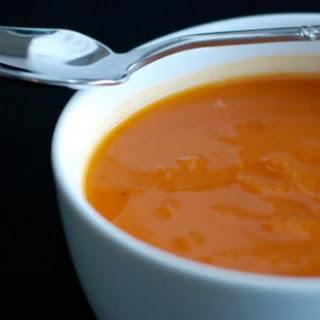 Gingered Carrot Soup.